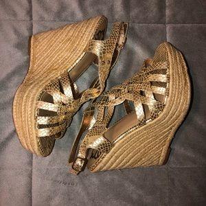 Fergalicious Wedge Sandal